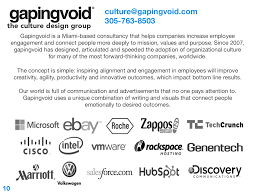 Gapingvoid Culture Design Group Gapingvoid Is A Miami Based Consultancy
