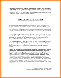 work philosophy example gallery of 6 example of a philosophy statement case statement 2017