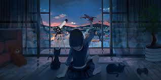 Aesthetic Anime Wallpaper Desktop Hd