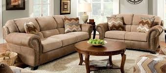 Buy Furniture of America SM5027 SET Hereford Living Room Set