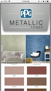 Ppg Metallic Tones Color Palette 1 4 In 2019 Decor Home