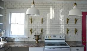 large subway tile with gray grout top white subway tile love blue glass tiles white glass
