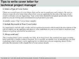 Mid Level Cover Letter Sample Technical Manager Cover Letter Entry