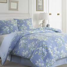 laura ashley comforter sets best of laura ashley spencer periwinkle cotton 4 piece forter