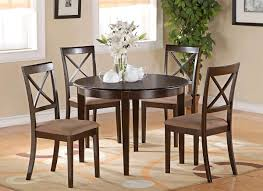 Round Kitchen Table Sets For 4 Affordable Round Dining Parson