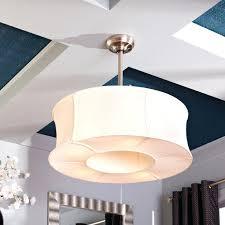 drum shade ceiling fan alluring add a drum shade to your ceiling fan in 5 minutes drum shade ceiling fan