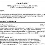 Example Resume Summary Free Download For Job Seeker 2016 The