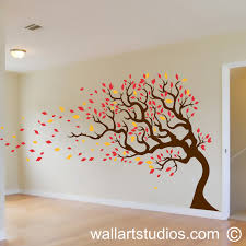 on wall art tree images with autumn tree wall art studios