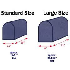 Mailbox flag dimensions Residential Mailbox If Your Mailbox Measures Approximately 19 Long And The Width Of The Door Is Approximately 65 Then Purchase The Standard Size Mailwrap What Size Mailbox Covers Will Fit My Mailbox Flags On Stick