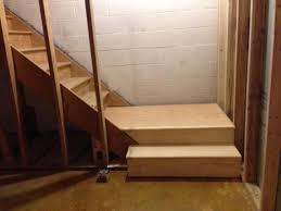 basement stairs ideas. Basement Stair Landing Ideas Stairs E