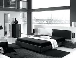 Black And White Mid Century Modern Bedroom Furniture Design Ideas ...