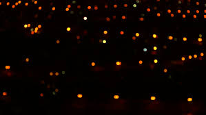 ornamental lighting definition. unfocused nighttime city lights. a great piece of stock footage filmed in 4k definition, ornamental lighting definition i