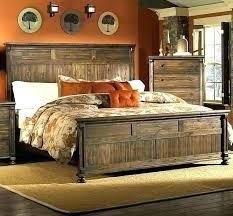 grey wood bedroom furniture set