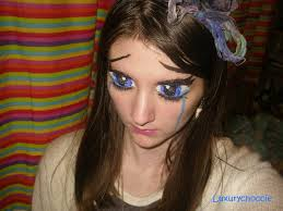 you re artist anastasiya shpagina master of transformation crying anime eyes make up by luxurychoccie