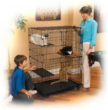 <b>MidWest клетка</b> для кошек <b>Cat Playpens</b> 90*59*121h см. купить в ...