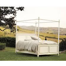 Louisa Metal Canopy Bed