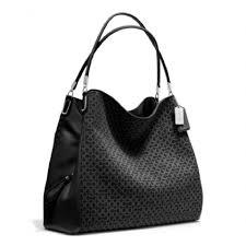 Coach Madison Phoebe Needlepoint Fabric Hand Leather Shoulder Bag. 123