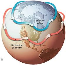 where do jet streams form the jet stream protects us from the polar cold this jet stream