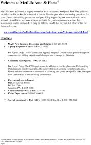 Metlife Auto Insurance Quote Awesome Welcome To MetLife Auto Home PDF