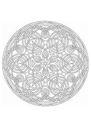 Site With Many Free Mandela Coloring Sheets Self Care Mandala