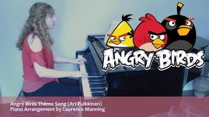 Angry Birds Theme Song (Piano Cover) - YouTube