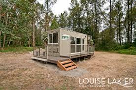 The Canadian Container Cabin  Shipping Container Hunting Cabin