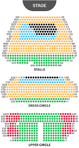 Victoria Palace Seating Chart