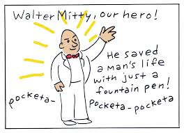 the secret life of walter mitty unplugged comics grinder the secret life of walter mitty thurber 005