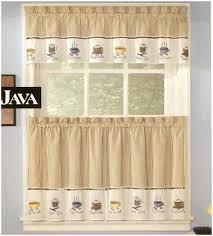 Plaid Kitchen Curtains Valances Kitchen Appealing Plaid Valance Java Kitchen Curtains Yellow