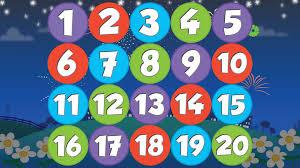 Resultat d'imatges de numbers song 1-20