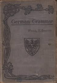 this is one of my recent finds while thrift ping it is an old german grammar book from the early 1900 s i love the cover and thought i would