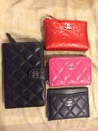 chanel key pouch. i use any of the 3 on rightfits well with smaller bags. not all at once just depending what i\u0027m in mood for. key pouch, zip around cardholder, chanel pouch