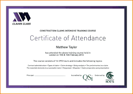 Certificate Of Attendance Word Template Filename Elrey De Bodas