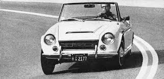 1968 car driver road test datsun 2000 roadster