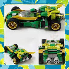 Đồ Chơi Giá Rẻ] Lego Ninjago Movie 70641 Ninja Nightcrawler Xếp hình Xe Đua  Bóng Đêm Của Ninja