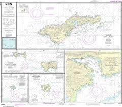 Noaa Nautical Chart 83484 U S Possessions In Samoa Islands Manua Islands Pago Pago Harbor Tutuila Island Rose Atoll Swains Island