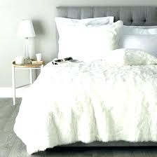 furry duvet covers faux fur comforters set new white comforter with additional black panther full queen