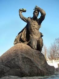 Город герой Мурманск Памятник Бредову А Ф