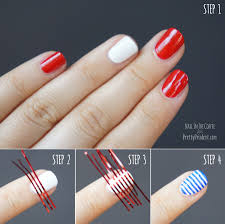 4th of July Nail Art Tutorial | Pretty Prudent