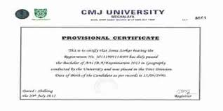 Application Format For Provisional Certificate Assignment Point