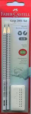 Купить Набор карандашей чернографит. <b>Faber</b>-<b>Castell Grip 2001</b> ...