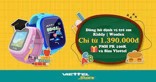 Viettel Store (viettelstore.vn) - Đồng hồ thông minh cho trẻ em 🚨 Kiddy K2T  (touch): Chỉ 1.390.000Đ 👉 https://goo.gl/xfdeUS + + Bảo hành chính hãng +  + Giao hàng tận nơi miễn