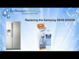 samsung fridge water filter replacement. How To Replace The Samsung Refrigerator Water Filter YouTube Inside Fridge Replacement