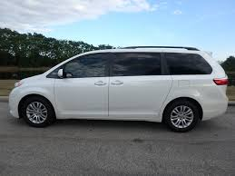 2015 Used Toyota Sienna 5dr 8-Passenger Van XLE FWD at Central ...