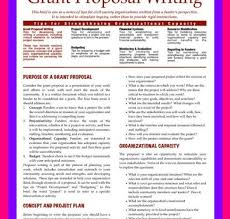 Example Of A Grant Proposal Business Letters Writing