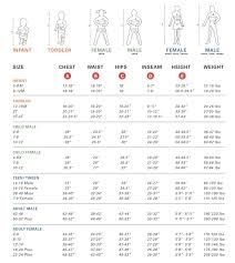 Disguise Size Chart 58 Detailed Please Refer To The Size Chart To