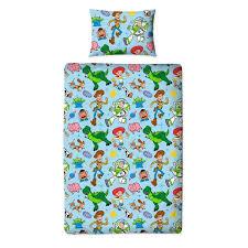 4 piece junior bedding bundle toy story