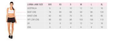 Gymshark Size Chart Size Chart Active Wear