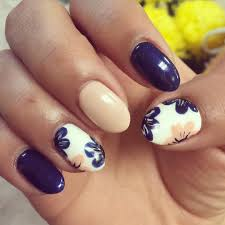 Cool flower nail designs - how you can do it at home. Pictures ...