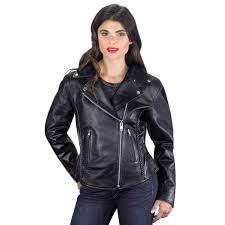 cruise women s leather motorcycle jacket